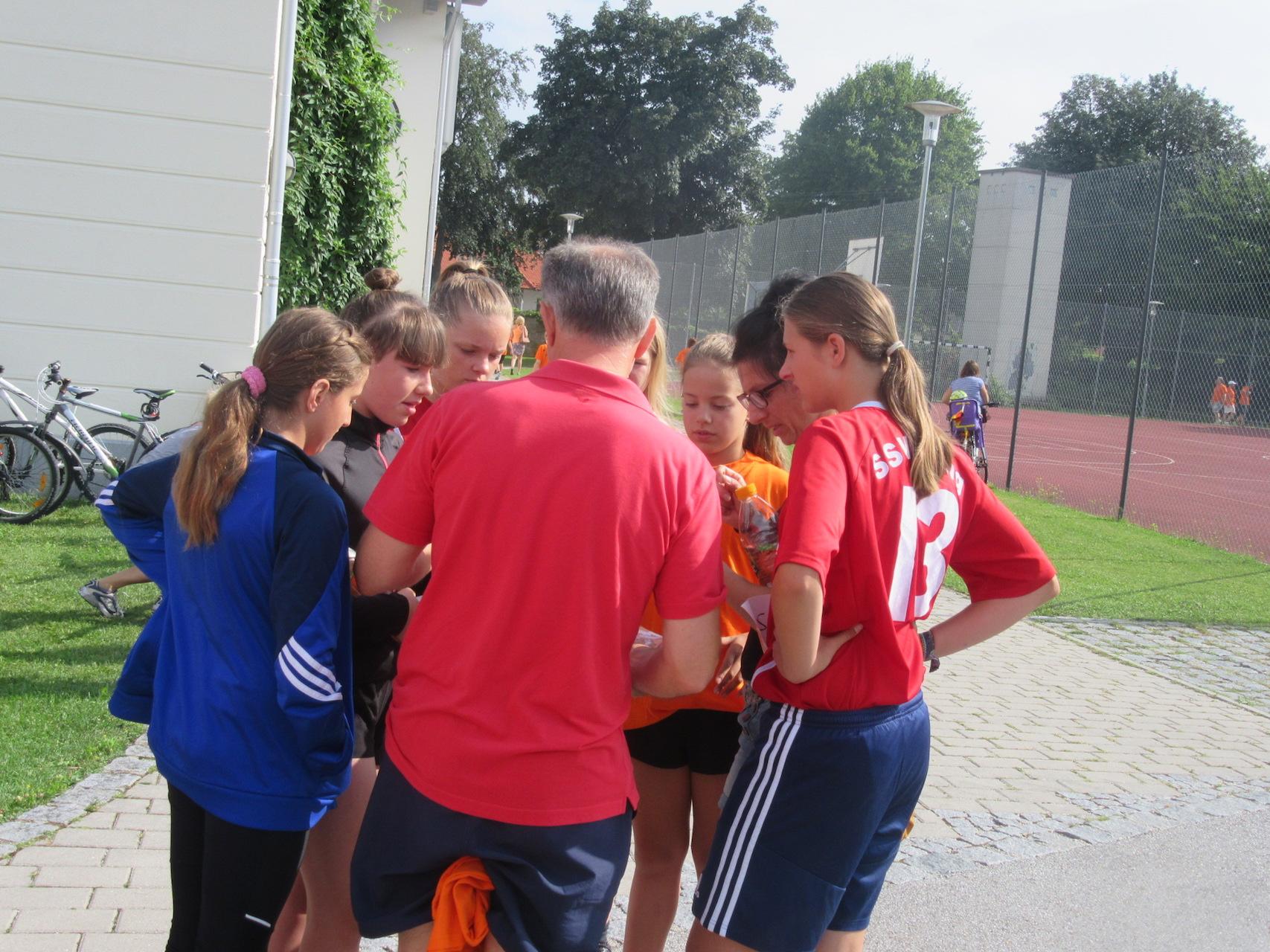C-Juniorinnen: Marathonlauf in Niederaichbach