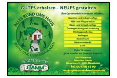 Gartenservice-Stamm