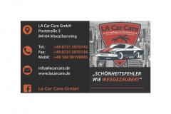 LA Car Care Werbung