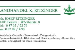 Landhandel K.Ritzinger _ Anzeige neu